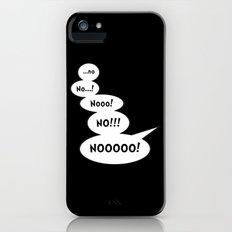 Comic book NO iPhone (5, 5s) Slim Case