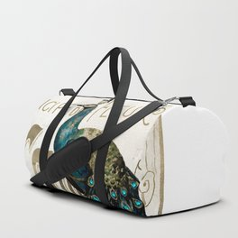 Peacock Jewels Duffle Bag