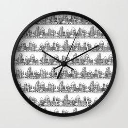 Little City Wall Clock
