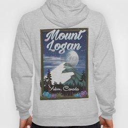 Mount Logan , Yukon, Canada Hoody