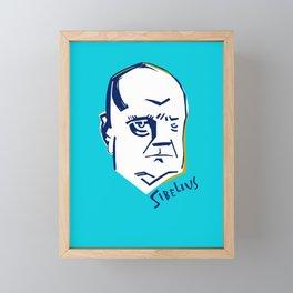 Jean Sibelius (3) Framed Mini Art Print