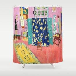 Henri Matisse The Pink Studio Shower Curtain