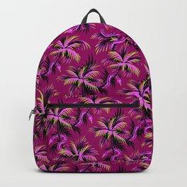 Snake Palms - Purple Backpack