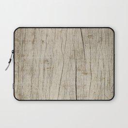 Vintage wood texture Laptop Sleeve