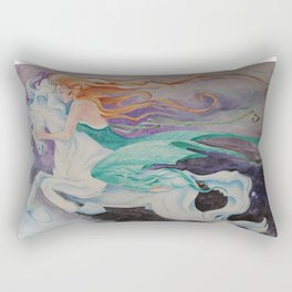 Dream Rider Rectangular Pillow