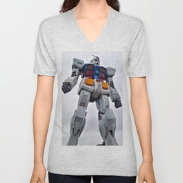 Mobile Suit Gundam Unisex V-Neck