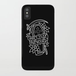 Don't Fear the Reaper iPhone Case