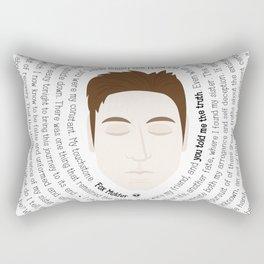 Fox Mulder - XF Quotes Rectangular Pillow