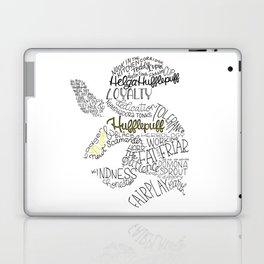 Hufflepuff House Crest Laptop & iPad Skin