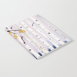 Birch Trees Watercolor Notebook