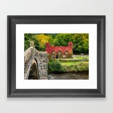 Autumn Cottage Framed Art Print