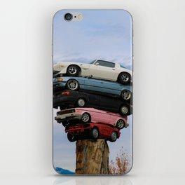 car pile iPhone Skin