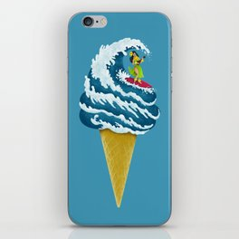 Perfect Wave iPhone Skin