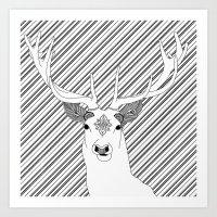 Stag 3.0 Art Print
