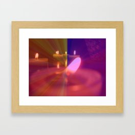 Old Flame Can't Hold A Candle To You Framed Art Print