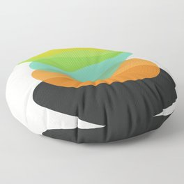 Modern minimal forms 35 Floor Pillow