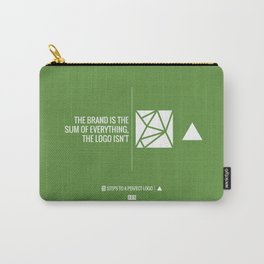 Perfect Logo Series (6 of 11) - Green Carry-All Pouch