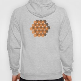 Reception retro geometric pattern Hoody