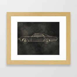 Supernatural: Impala Framed Art Print