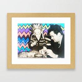 Make Time. Framed Art Print