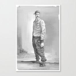 soldier2 Canvas Print