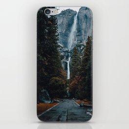 Upper and Lower Yosemite Falls iPhone Skin