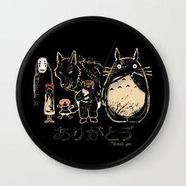 Tribute for Miyazaki Wall Clock