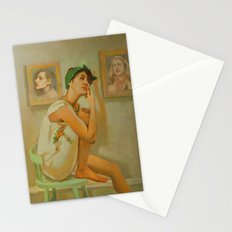The Walls Have Ears Stationery Cards
