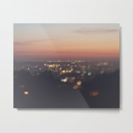 Los Angeles. Everyone's A Star No.2 Metal Print