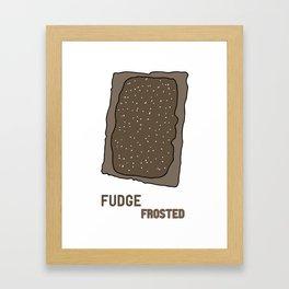 Fudge Frosted Popped Art Framed Art Print