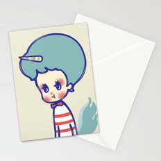 why are you angry? Stationery Cards