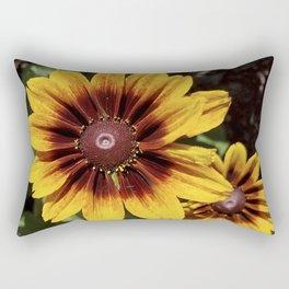 Really Radiant Rudbeckia Rectangular Pillow