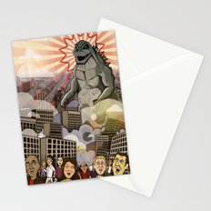 Godzilla!!! Stationery Cards