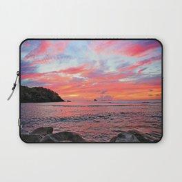 Caribbean Sunset Laptop Sleeve