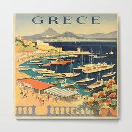 Vintage poster - Grece Metal Print