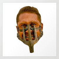 mad max Art Prints featuring Mad Max  by NETSofficial