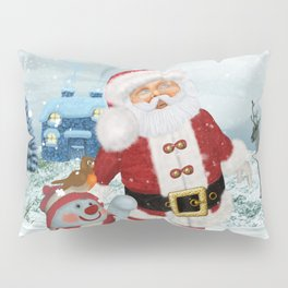 Funny Santa Claus Pillow Sham