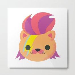 Ziggy Cat Metal Print