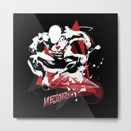 Mejor Fitness Man Metal Print