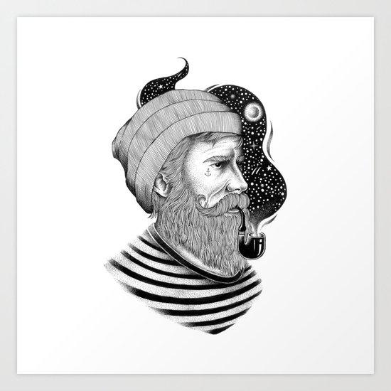 SAILOR 2 Art Print