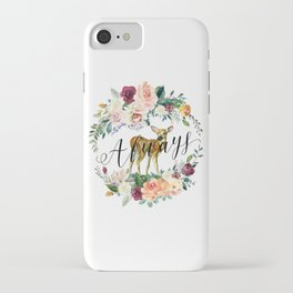 Always - Fawn iPhone Case