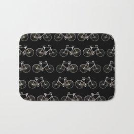 Vintage Bicycle Pattern Bath Mat