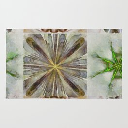 Dentalium Speculation Flower  ID:16165-144752-76360 Rug
