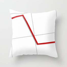 Statistic Down Throw Pillow