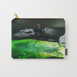 The Green Lagoon Carry-All Pouch