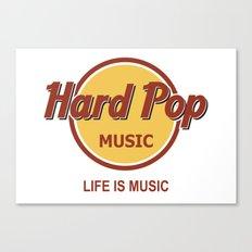Hard Pop Music Canvas Print