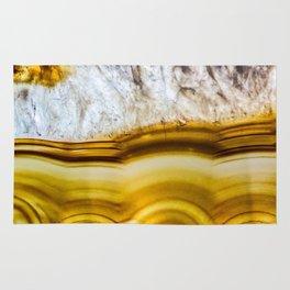Amber Honey Agate Earth Rug