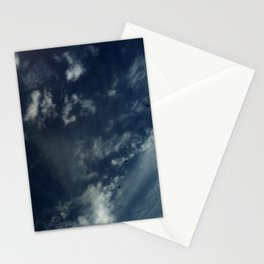 Cloud and sky 12 -cloud, sky, blue, positive,optimism Stationery Cards