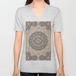 Bohemian Oriental Moroccan Mandala Style  Unisex V-Neck