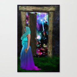 Keeper of the universe Canvas Print